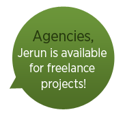 We like to freelance for agencies too!