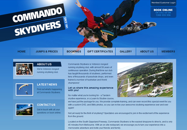 Commando Skydivers