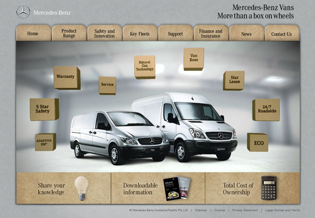 Mercedes Benz - More than a box on wheels